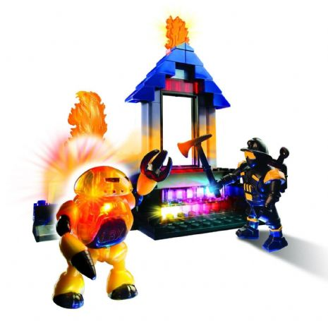 Lite Brix - INFERNO FIGHTERS - Light Building System - NEW